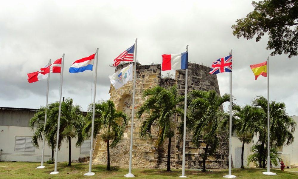 Virgin Islands History Flags