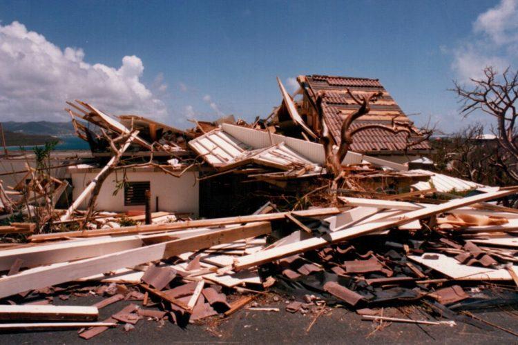 Hurricane Marilyn 1995