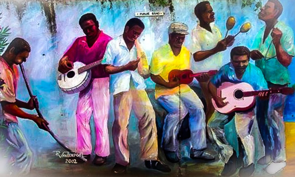 USVI Quelbe Music Mural