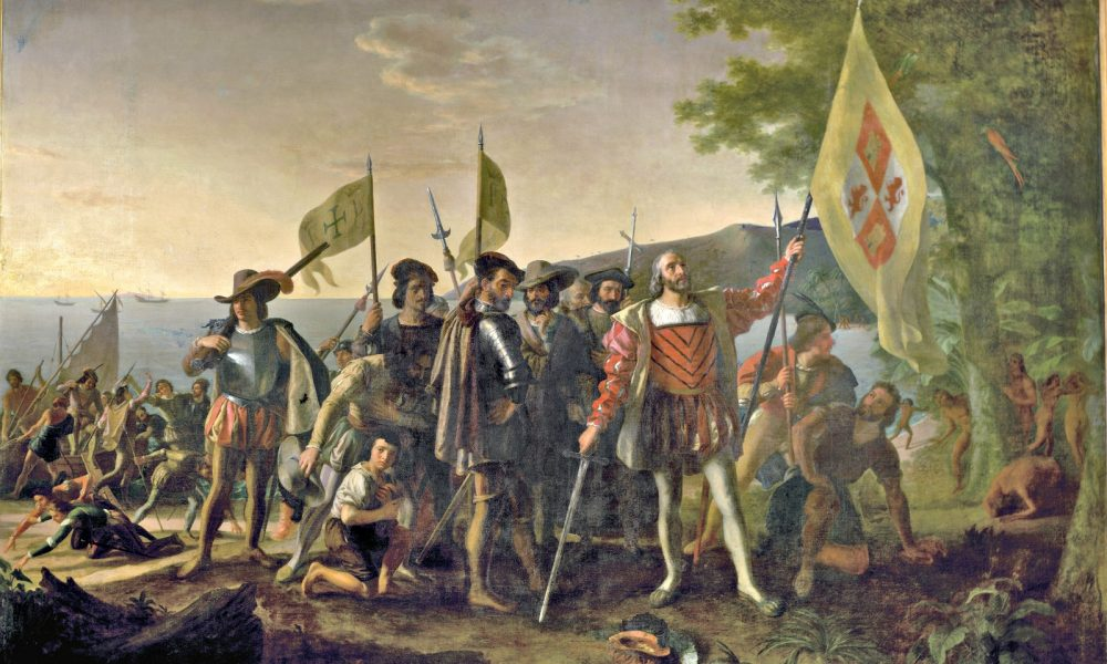 Christopher Columbus Virgin Islands History