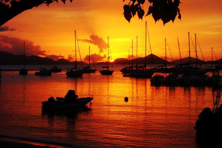 Cruz Bay Sunset