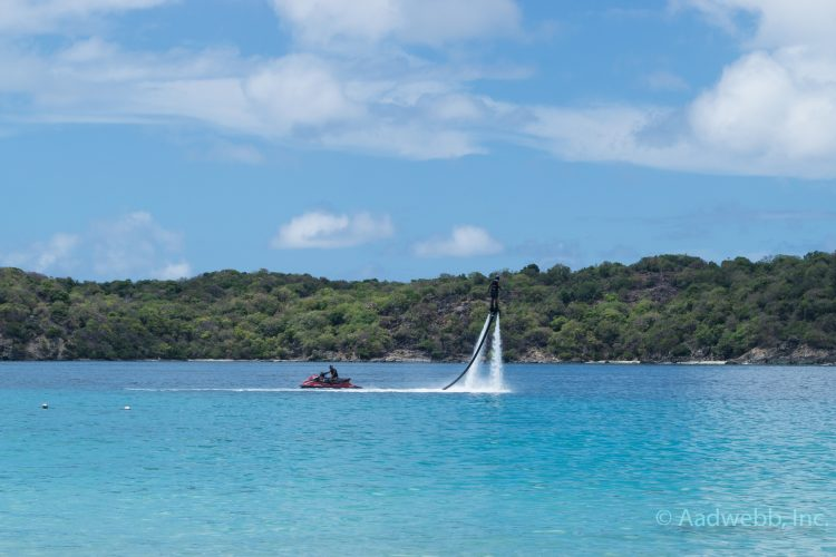 USVI St. Thomas Coki Beach Flyboard