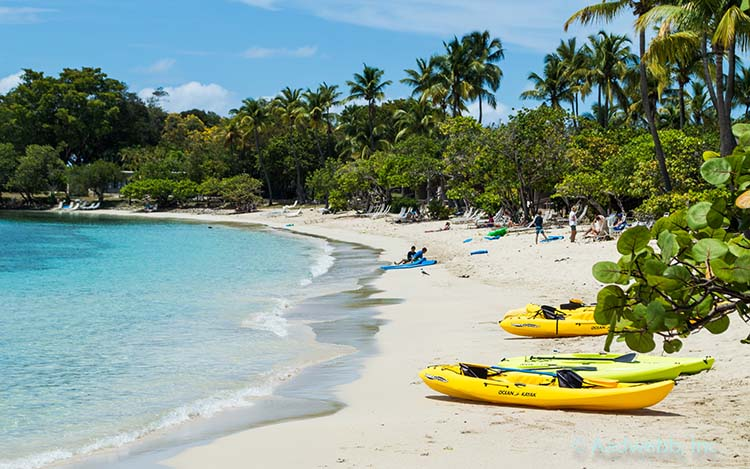USVI St. John Caneel Bay Sea Kayaks