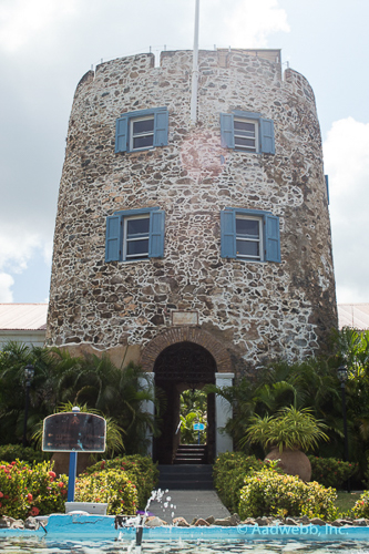 USVI St. Thomas Bluebeard's Castle