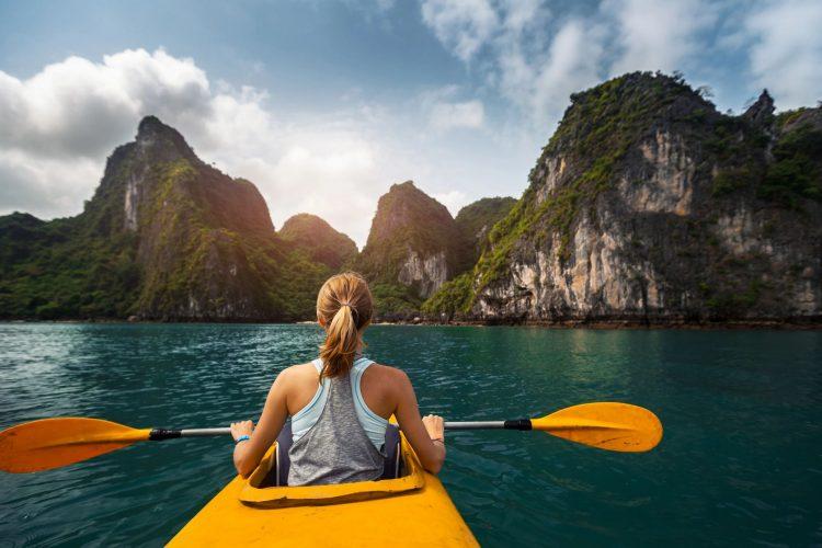 Kayaking in the Virgin Islands